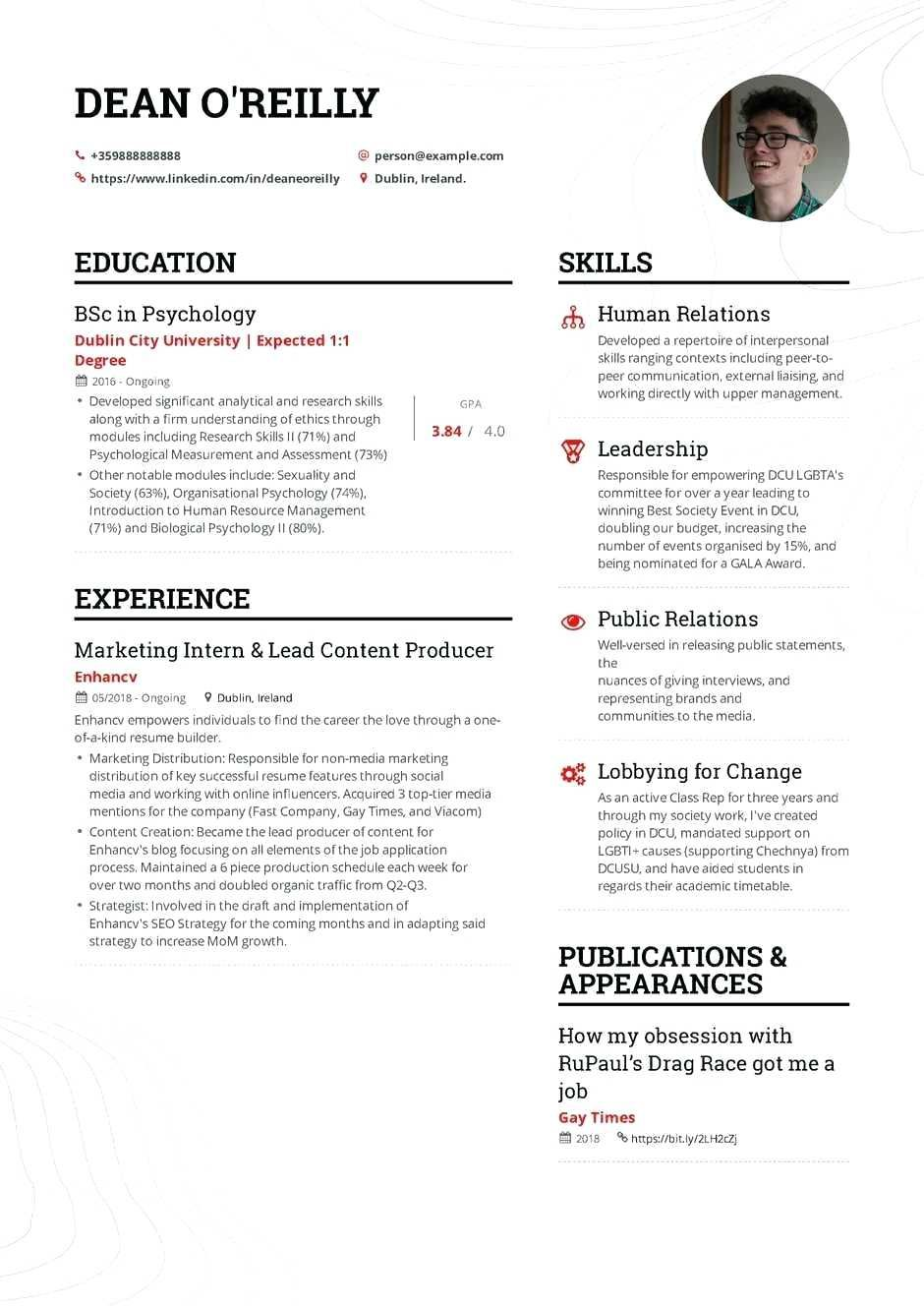 Computer Science Student Resume No Experience Beautiful