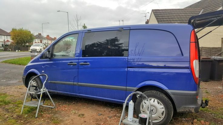 Cool Mercedes The Complete Vito Camper Van Conversion Playlist So Far TheCarpentersDaughter