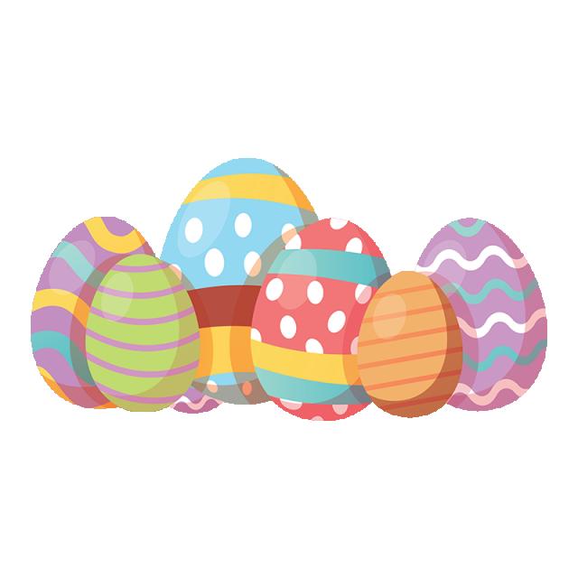 Toy Polka Dot Easter Eggs U.S
