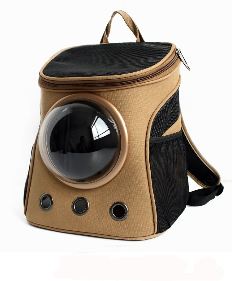 f706a6a400 Small 32 * 25* 38cm Pet Backpack Space Capsule Cat Dog Pet Puppy Travel  Outdoor Bag Breathable Bags Carrier Bag Supplies