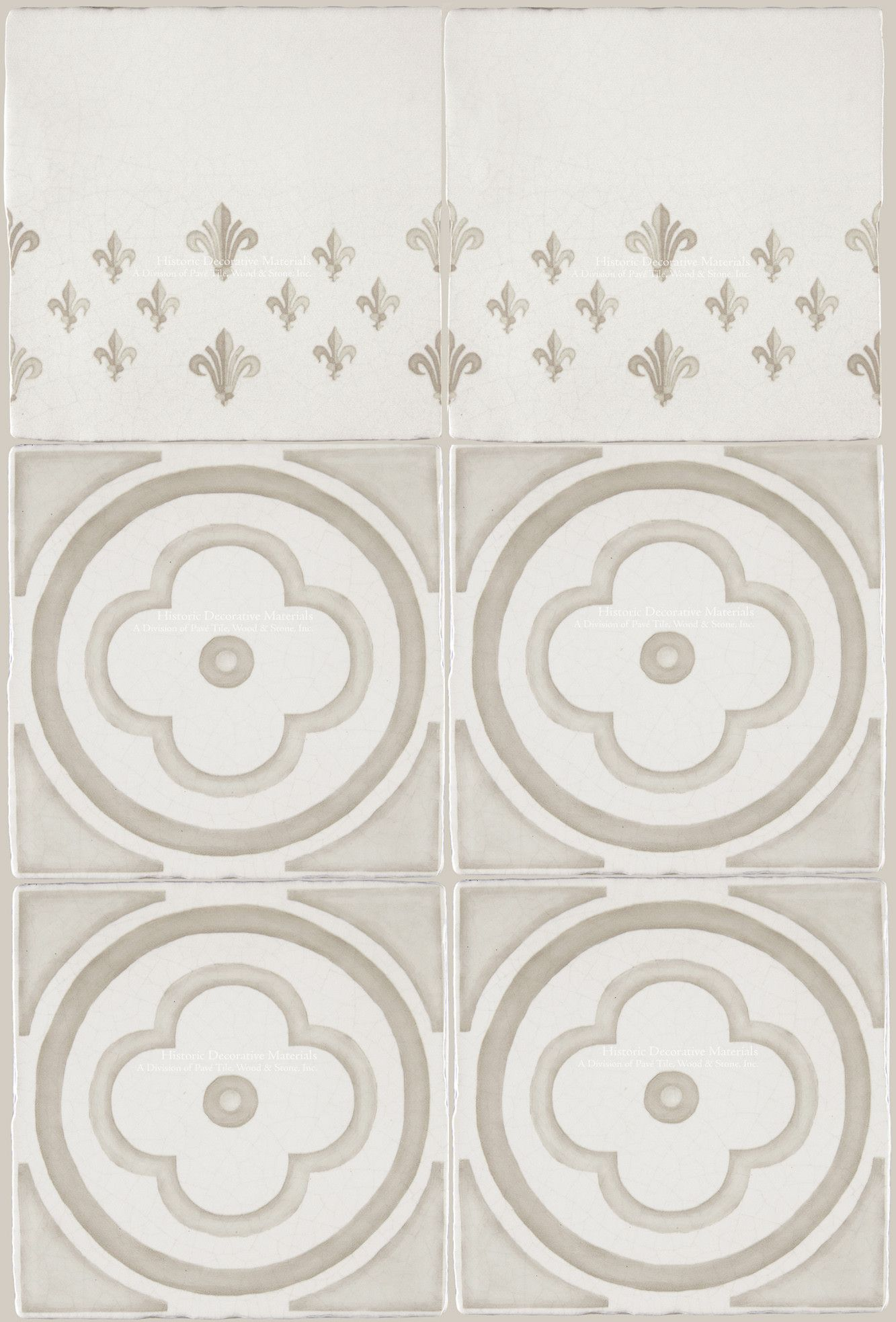 Decorative Tiles For Wall French Encaustic Decorative Wall Tile For Kitchens Baths And