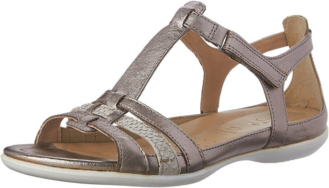 | ECCO Womens Flash T Strap Gladiator Sandal