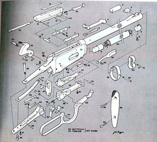 winchester model 94 parts diagram projects to try winchester Winchester Model 1894 Air Rifle Parts winchester model 94 parts diagram
