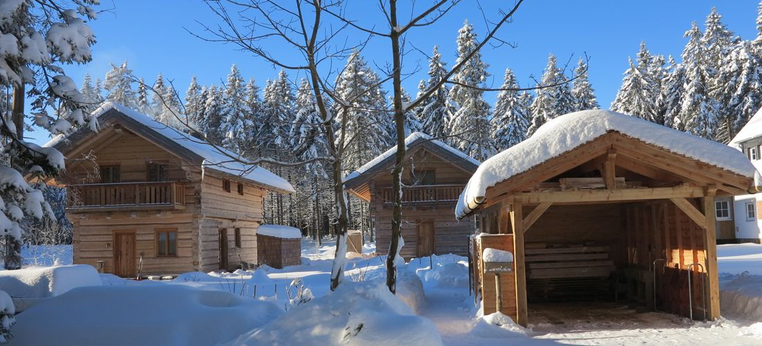 Zwei tiny houses mit jeweils ca. 50 qm Wohnfläche. (mit