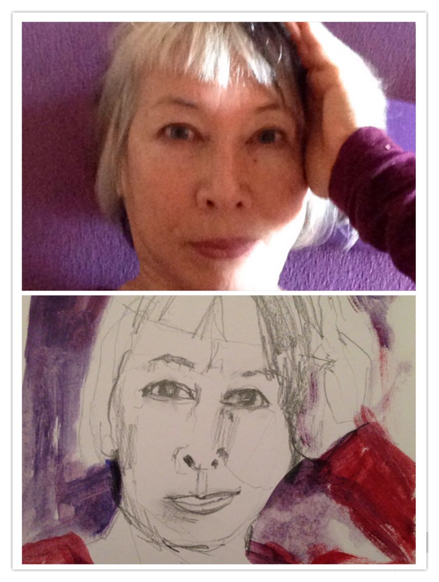 Day 7 July 25 lying on the mat having a break #selfieselfself
