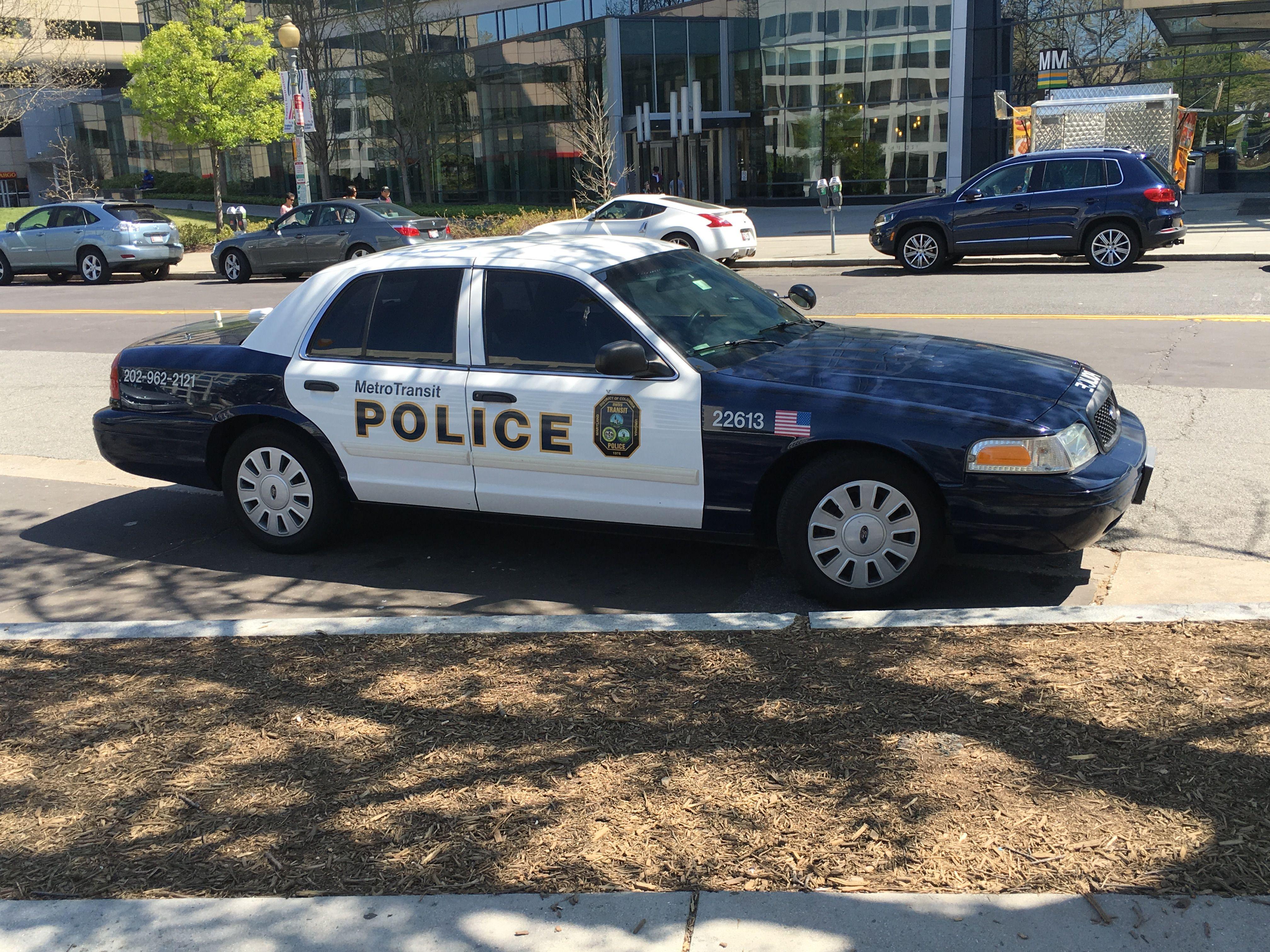 Metro Transit Police Department Ford Crown Victoria D C