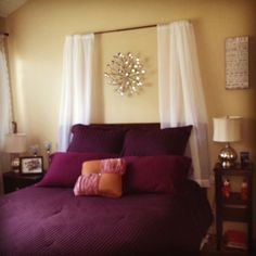 curtain headboard with lights - Yahoo Image Search Results