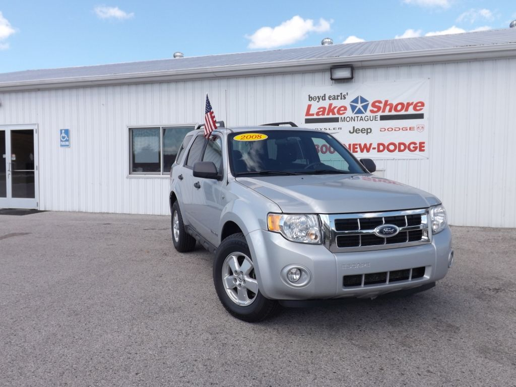 Used 2008 Ford Escape Xlt For Sale Montague Mi