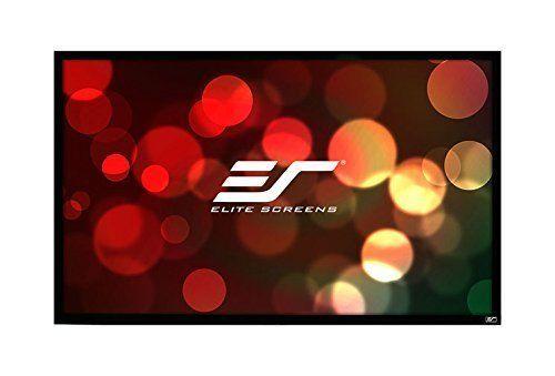 Projection Screen Elite EzFrame Series 120INCH 16:9 Transparent AcousticPro Home #EliteScreens