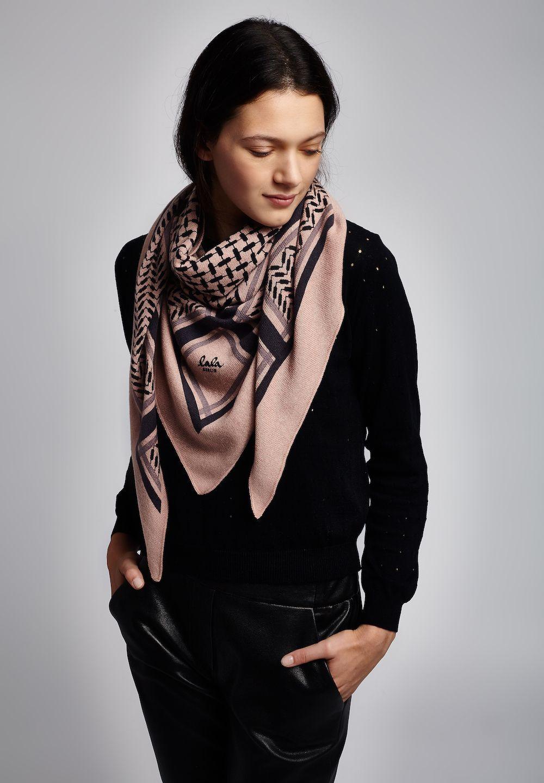 Lala berlin mantel rosa