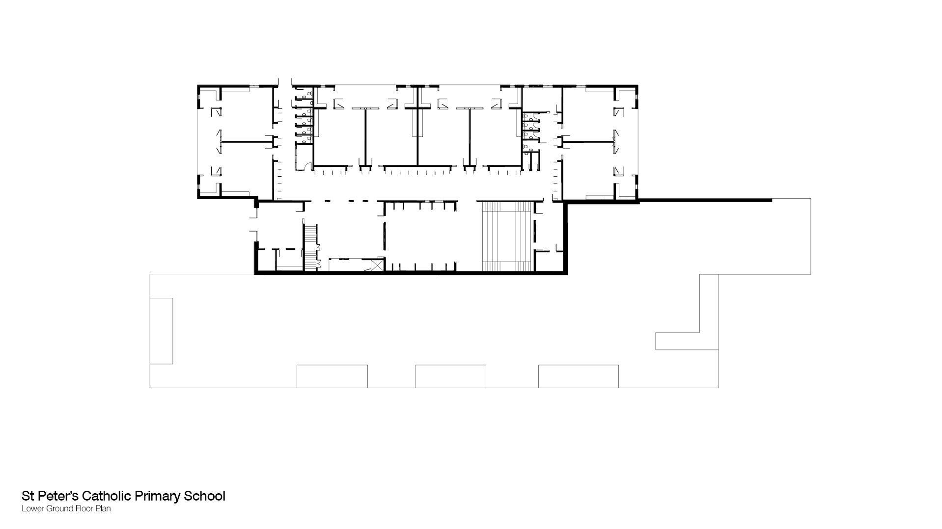 St Peter s Catholic Primary School Upper Ground Floor Plan