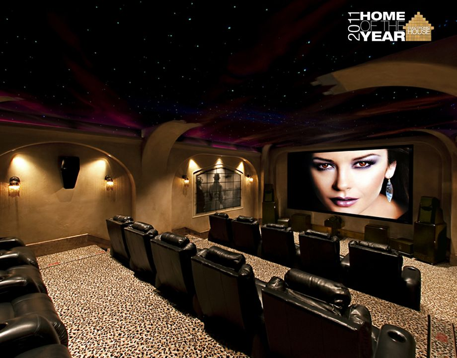 Leopard Carpet The Best Atlanta Home Theater Portfolio