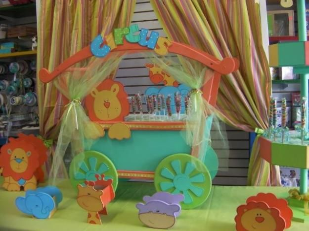 Carritos dulceros para fiestas - Imagui