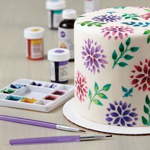 Cake Decorating Tools 5 Piece Brush Set Cake Decorating Tools Wilton Cake Decorating Cake Decorating