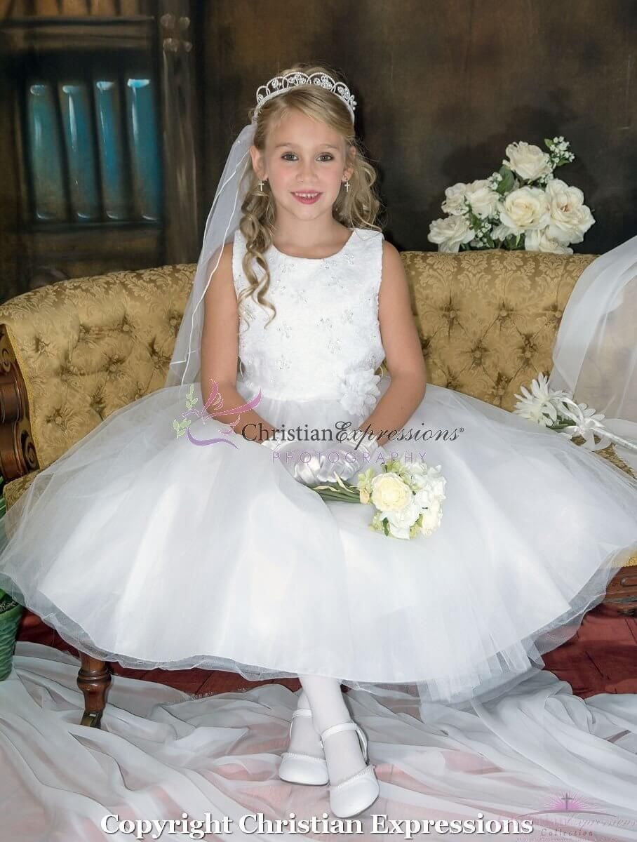 dd72d7551 Lace and Tulle First Communion Dress size 14