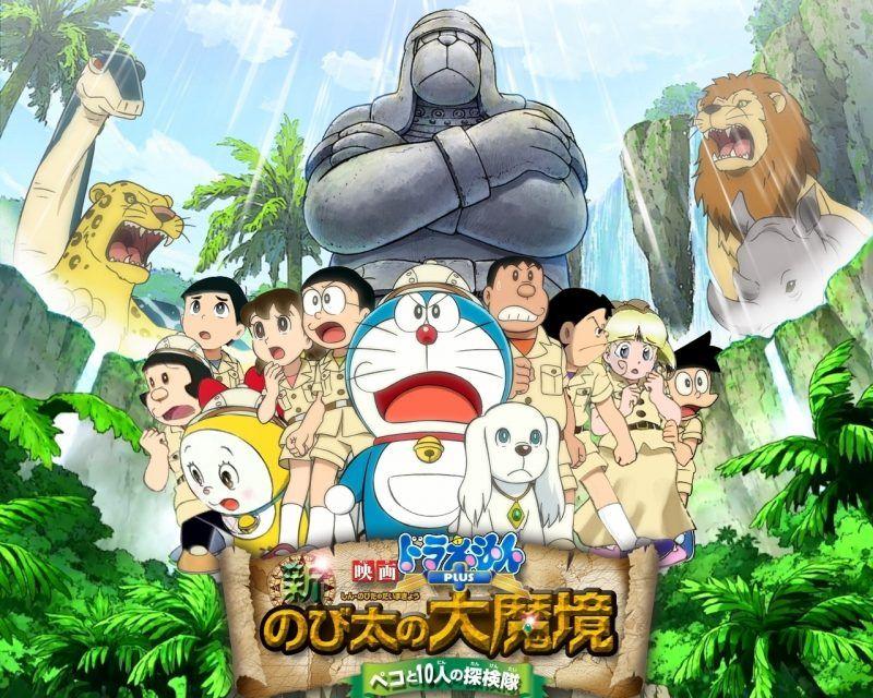 Fondos De Pantalla De Doraemon Wallpapers Hd Gratis Doraemon Doraemon El Gato Cosmico Fondo De Pantalla De Anime