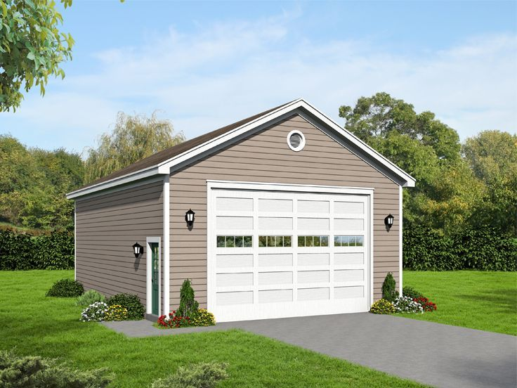 Garage Plan with Storage 062G0093 shop ideas – Garage Plans With Rv Storage