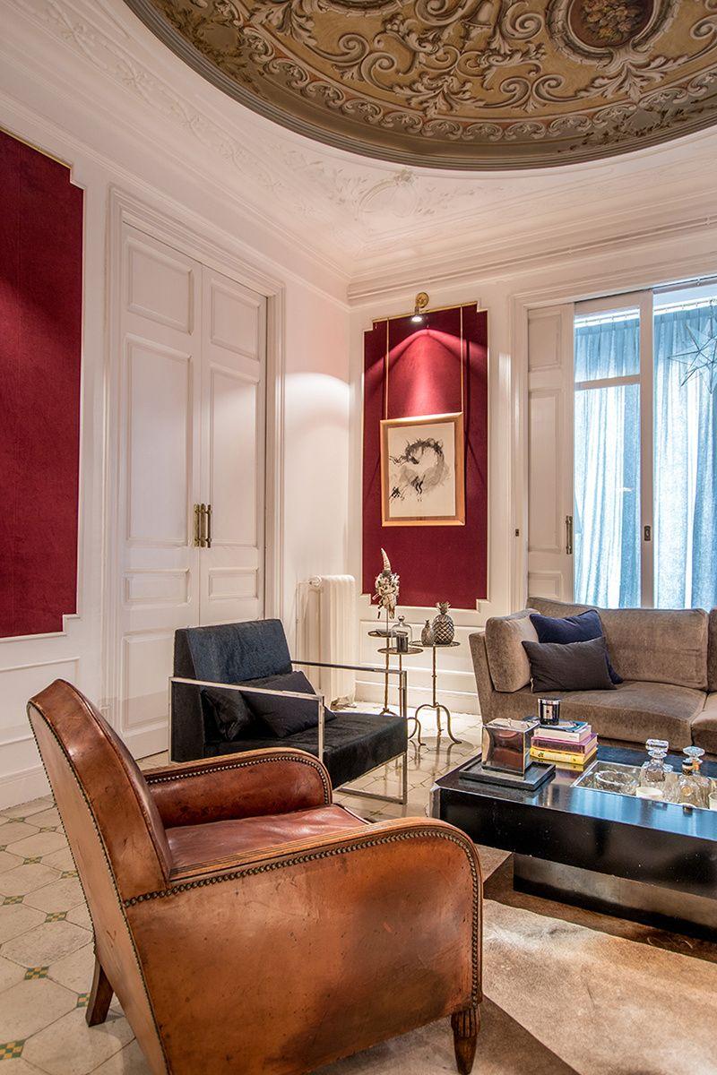 Dise o de pablo peyra studio barcelona eixample interior pinterest interiores salones y - Diseno interiores barcelona ...
