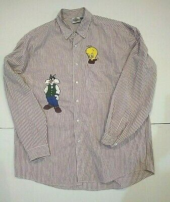 Details about Vintage Acme Clothing Co Button Down Looney