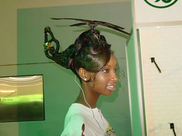 50 Ridiculous Haircuts Hairstyle Trends Come And Go Some Are More Sophisticated Than Others While Some Of These Ridic Weird Haircuts Hair Humor Wacky Hair