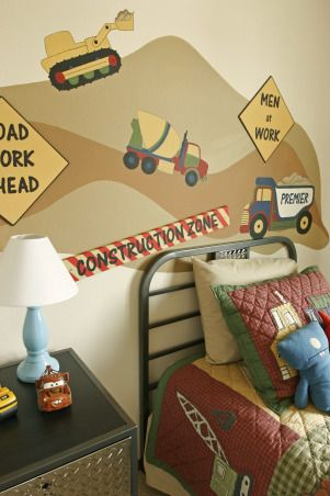 Construction Zone Boy's Bedroom - Boys' Room Designs - Decorating Ideas - HGTV Rate My Space