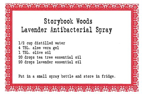 Lavender Antibacterial Spray