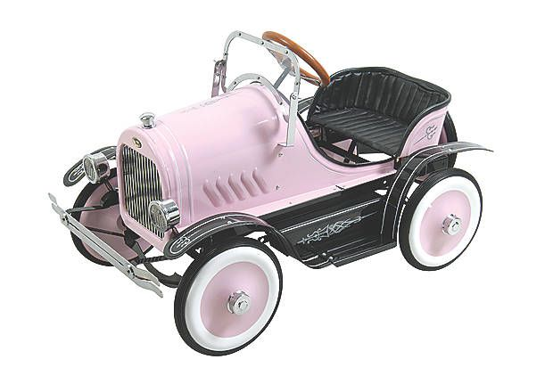 Dexton Pink Roadster Pedal Car