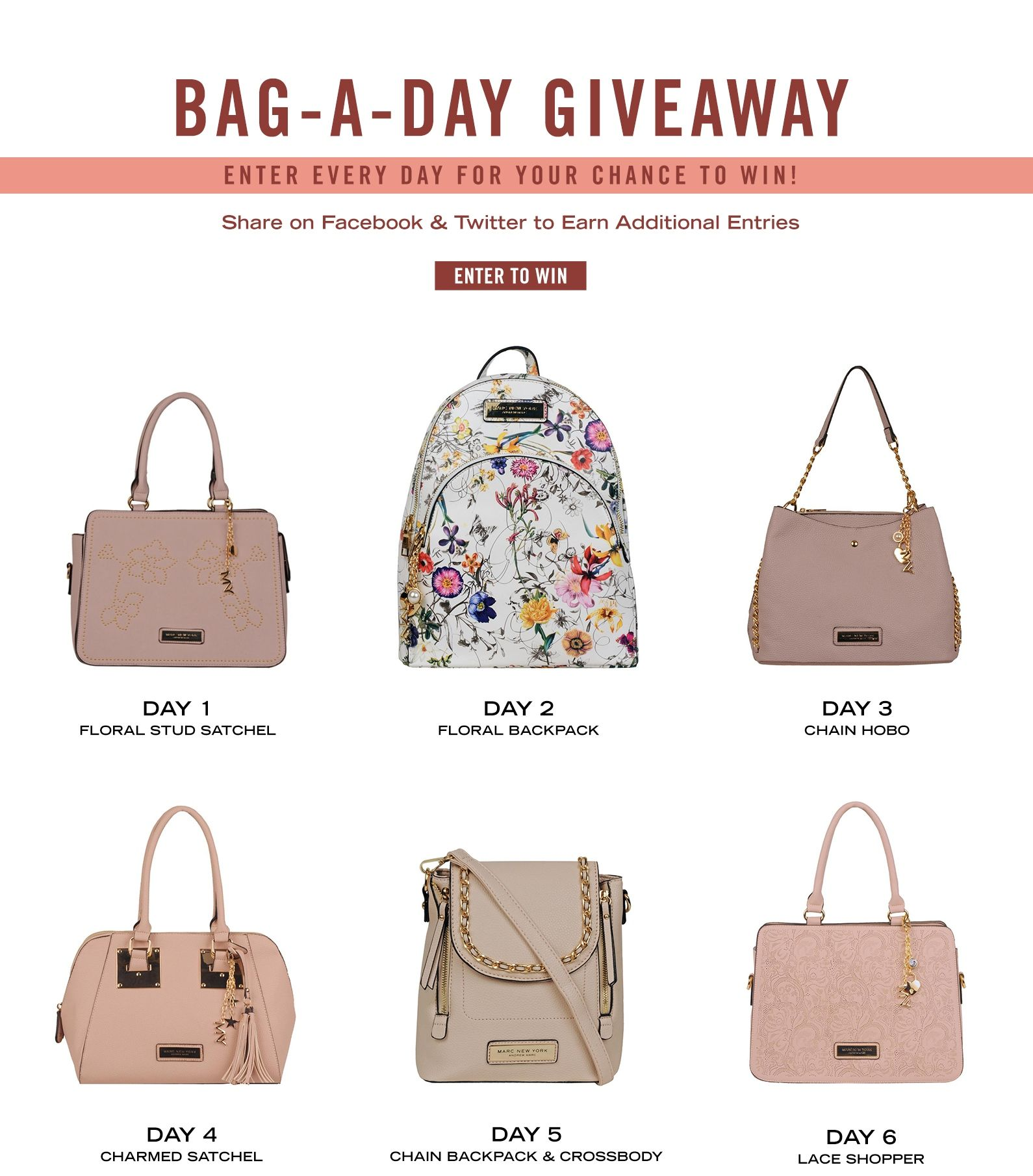 BagaDay Giveaway! Enter Every Day for Your Chance to Win