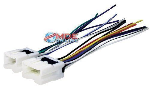 NN03B Scosche Radio Wiring Harness for 1995-Up Nissan Car Stereo