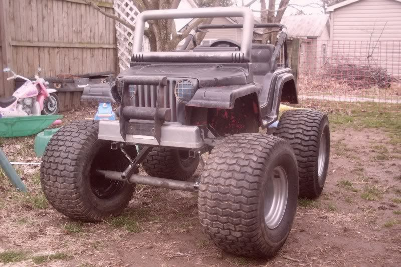 Im Building A Lifted Power Wheels Jeep Kids Power Wheels