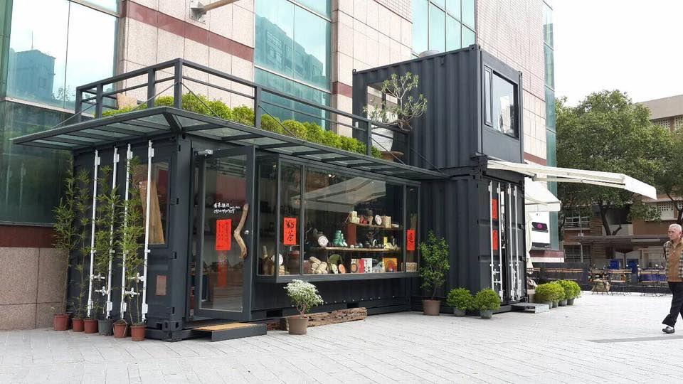 行動咖啡屋!or... 雙貨櫃切割,雙層陽台設計,所有東西都可內縮收納,內裝固定客製模組,可做成吊車模式或拖車模式。