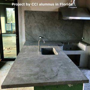 Omega Concrete Countertop Sealer Concrete Countertop Institute