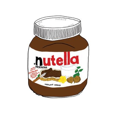 Nutella Jar   Nutella Jar Png by ~ ananurputeri   Nutella jar