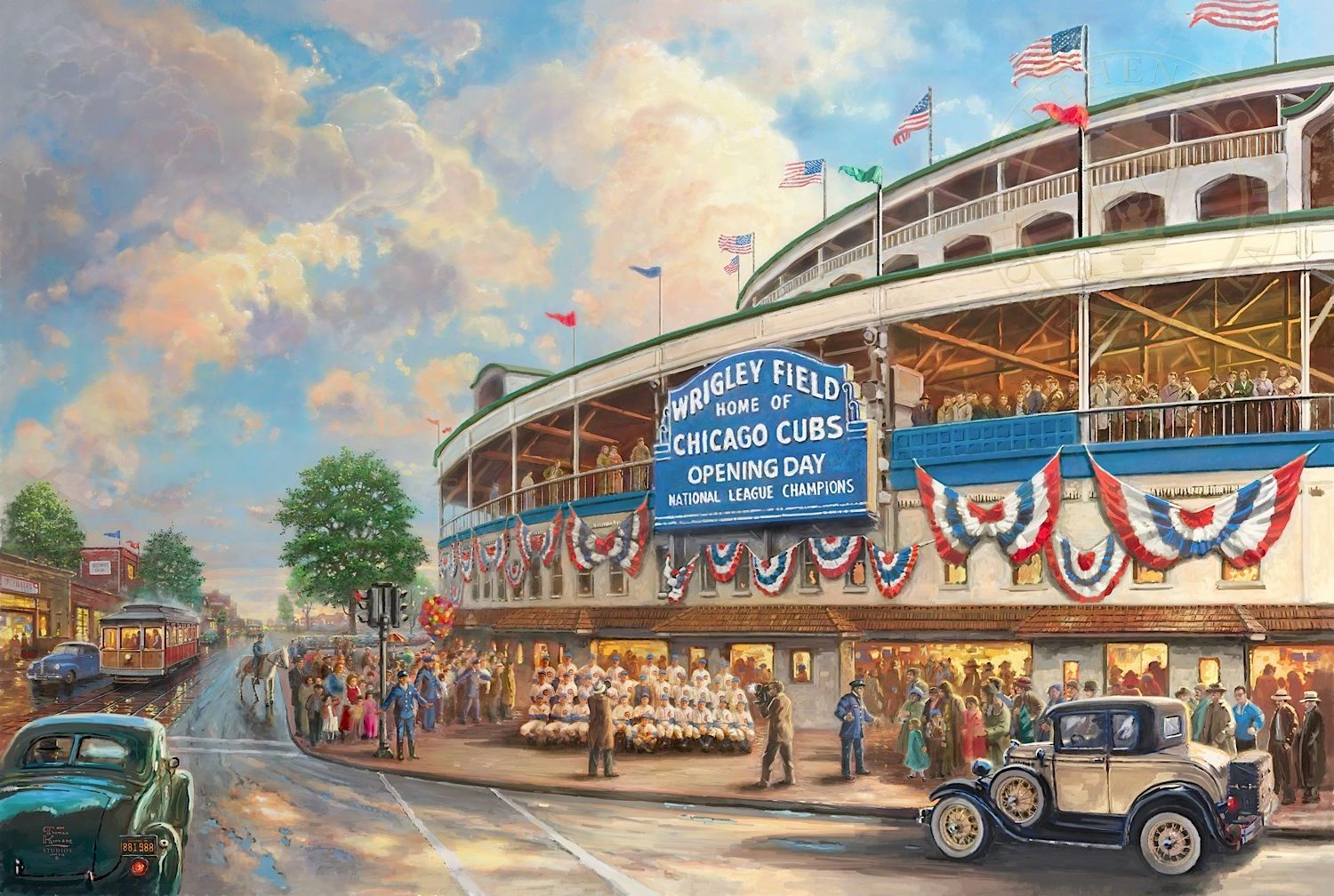 Shop The Bradford Exchange Online For Wrigley Field Memories And Dreams  Personalized Wall Decor. The Chicago Cubs™ Have Called Wrigley Field™ Home  Since Now ...