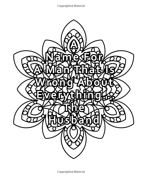 Just Married Mandala Coloring Book: 20 Just Married ...