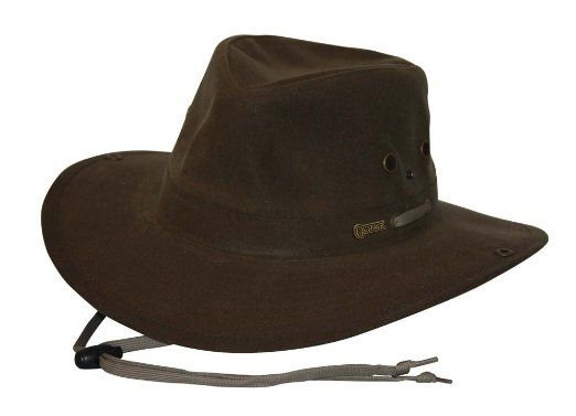 Amazon.com  Outback Trading Oilskin River Guide Hat  Clothing  89da0bf6a29