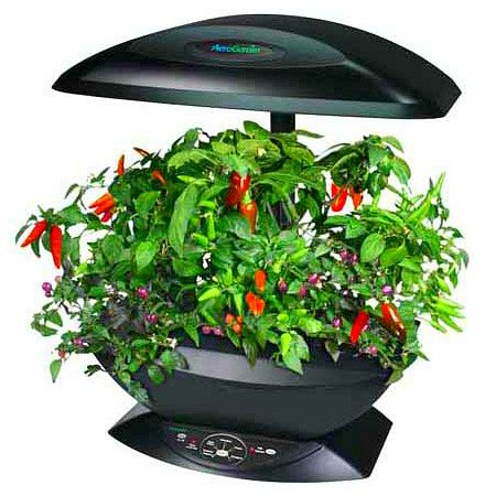 The Miracle-Gro AeroGarden 7-Pod Indoor Garden is a NASA proven technology to grow plants in a soil-less environment. GetdatGadget.com
