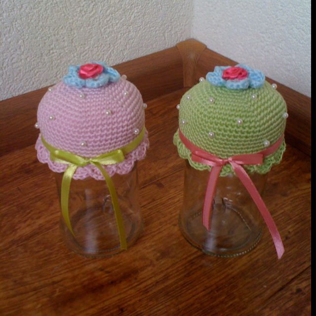 Cupcake potjes