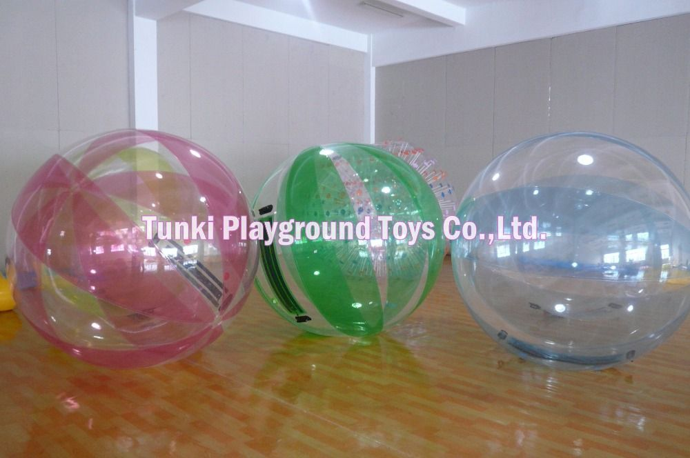 Inflable Agua Bubble Human Hamster Ball Rolling Water Ball Ball Beach Ball Playground Toys
