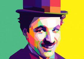 Charlie Chaplin | Displate thumbnail
