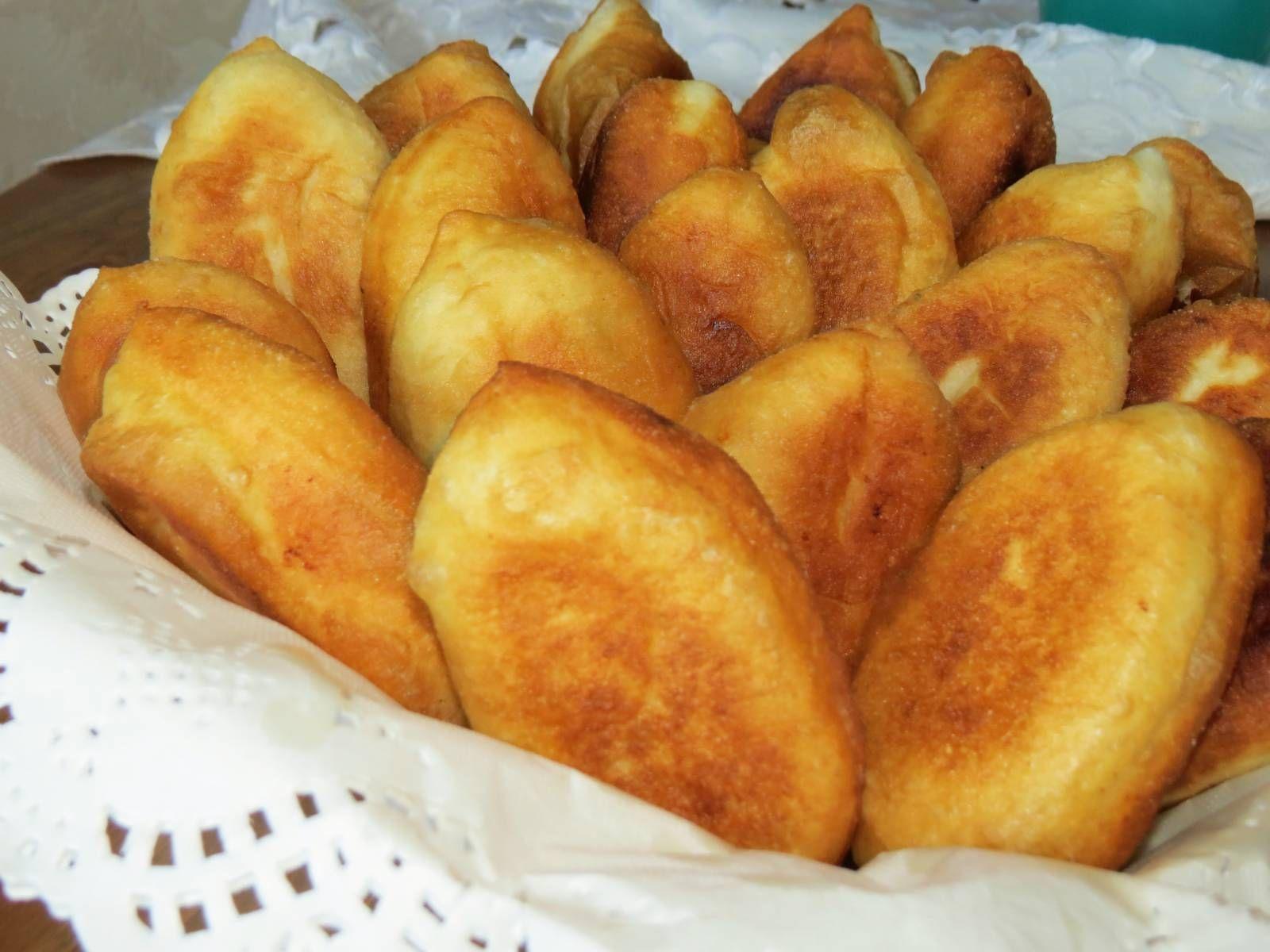 пирожки с картошкой фото как пончики рецепт
