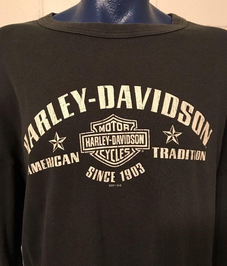 men's harley davidson motorcycles sweatshirt long sleeve 4xl black