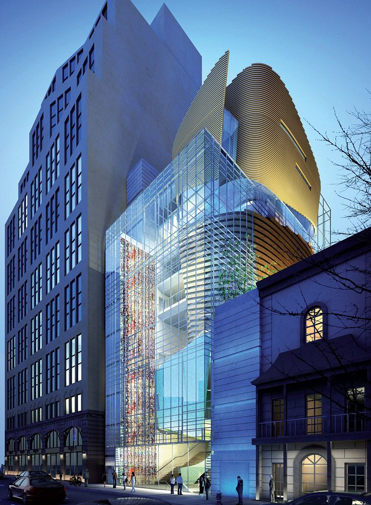 Samoo 39 s new korean cultural center in nyc aims for leed certification architecture design - Beruhmte architektur ...