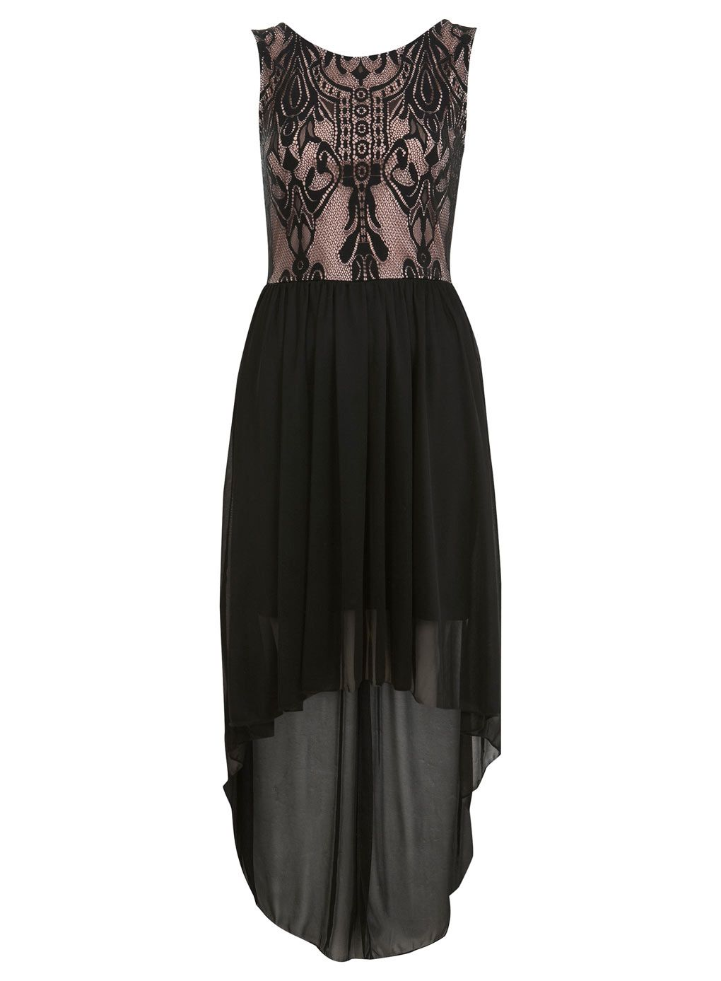 Love this but not so dark! Miss Selfridge Deco Lace Maxi Dress (36 ...