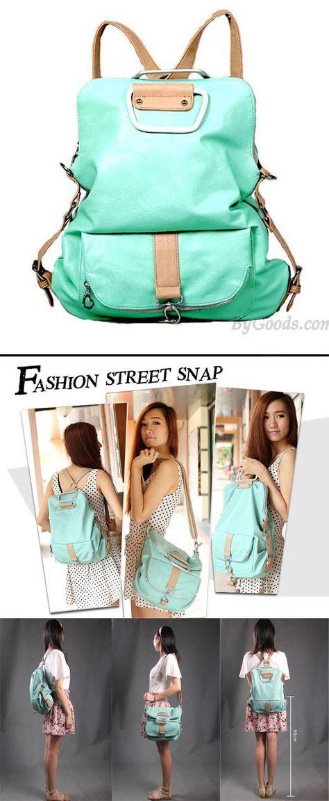 Unique Fresh Multifunction Backpack Handbag Shoulder Bag Is So Cute Multi Function