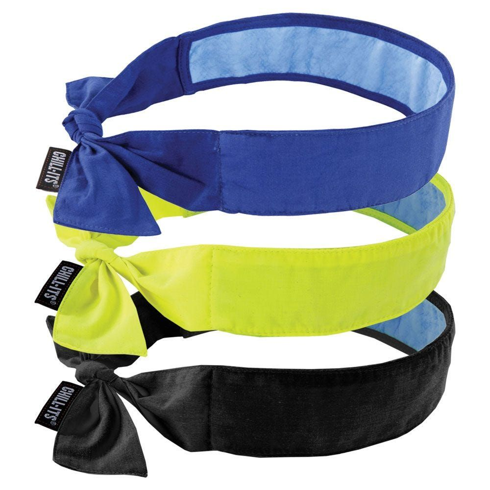 Ergodyne Chill Its 6700ct Evaporative Cooling Bandanas With Cooling Towel In 2020 Cool Stuff Chill Bandana