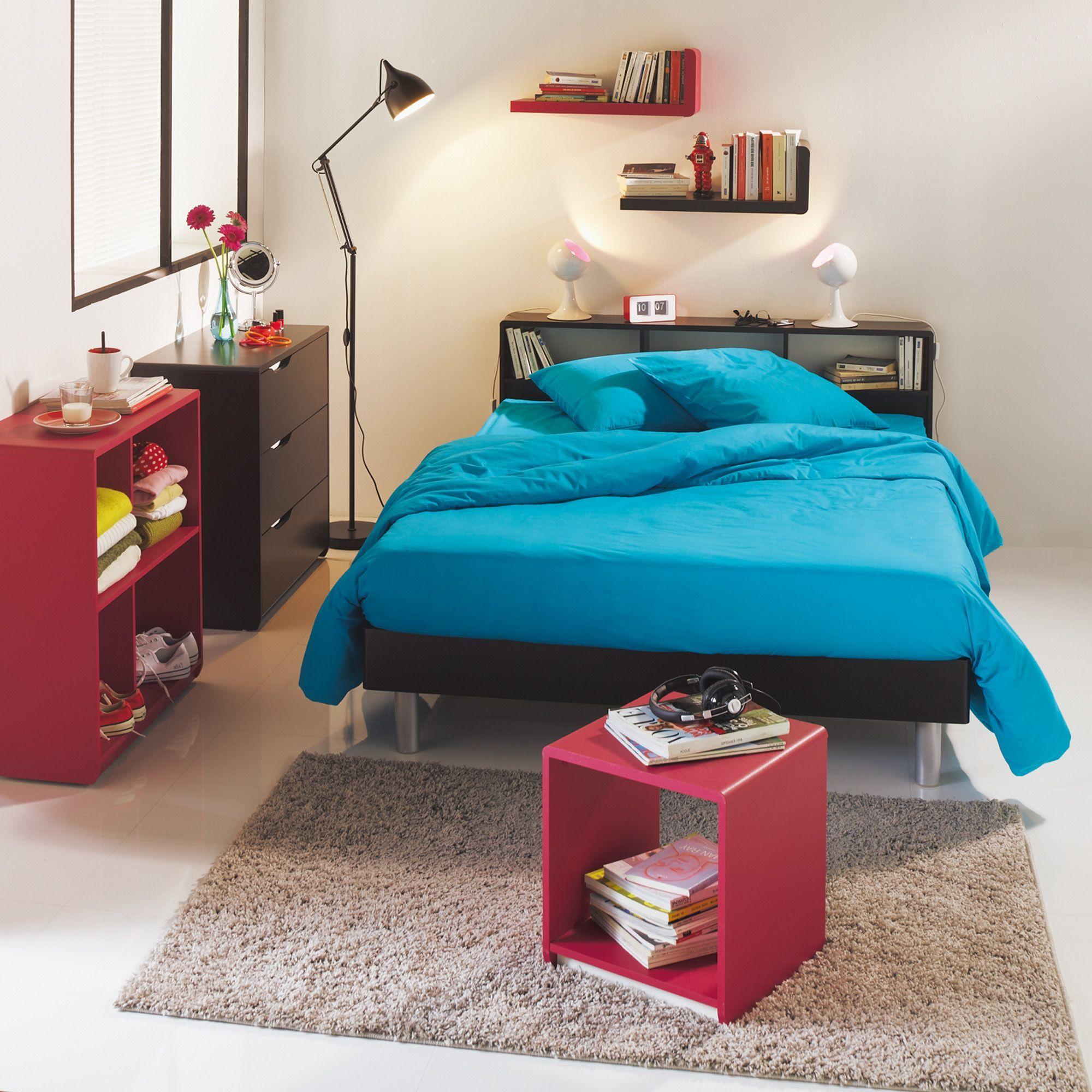 tete de lit ado trendy amnagement et dco chambre ado ides. Black Bedroom Furniture Sets. Home Design Ideas