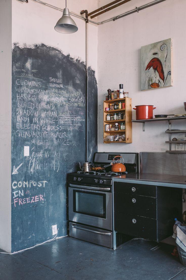 Stylisch und modern. Mit #Tafelfarbe schaffen Sie in Ihrer #Küche ...