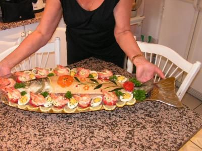 Plusieurs recettes de saumon frais en bellevue photos for Idee d entree froide