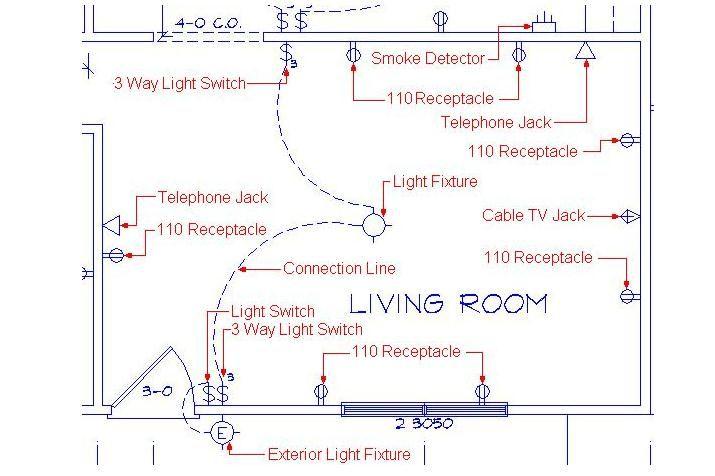 image school electrical plan residential electrical. Black Bedroom Furniture Sets. Home Design Ideas